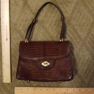 Alligator bag vintage Vassar MICRO!!
